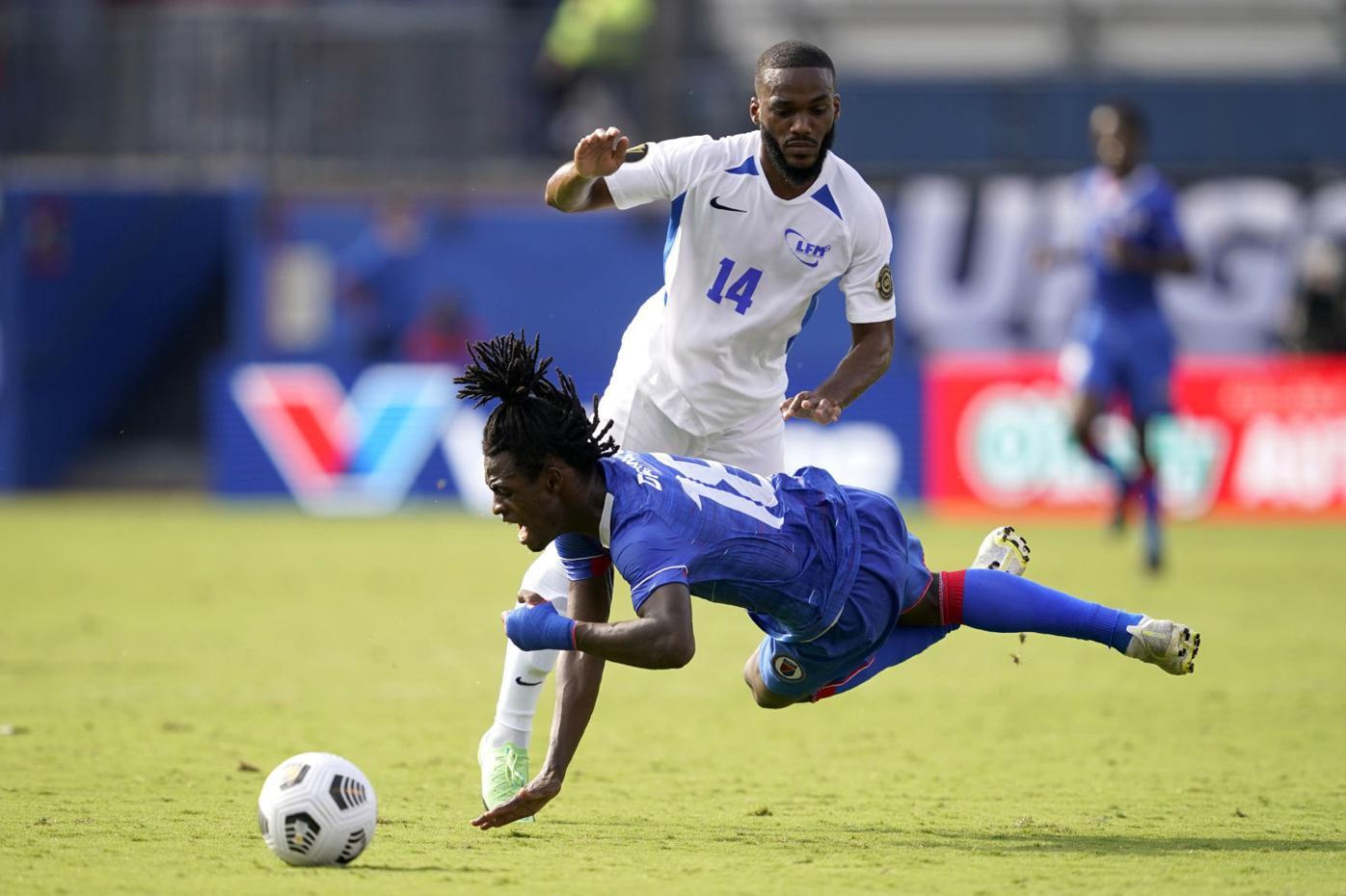 CONCACAF Martinique Haiti Soccer
