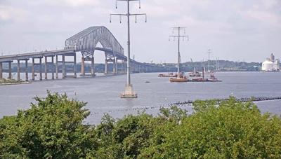 Poles erected in Key Bridge power project