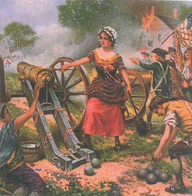 striding through history the saga of molly pitcher in the american