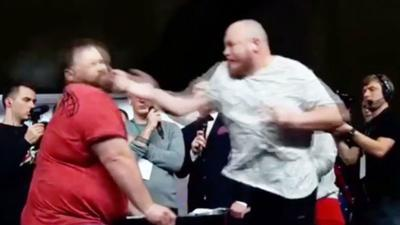 slap fighting