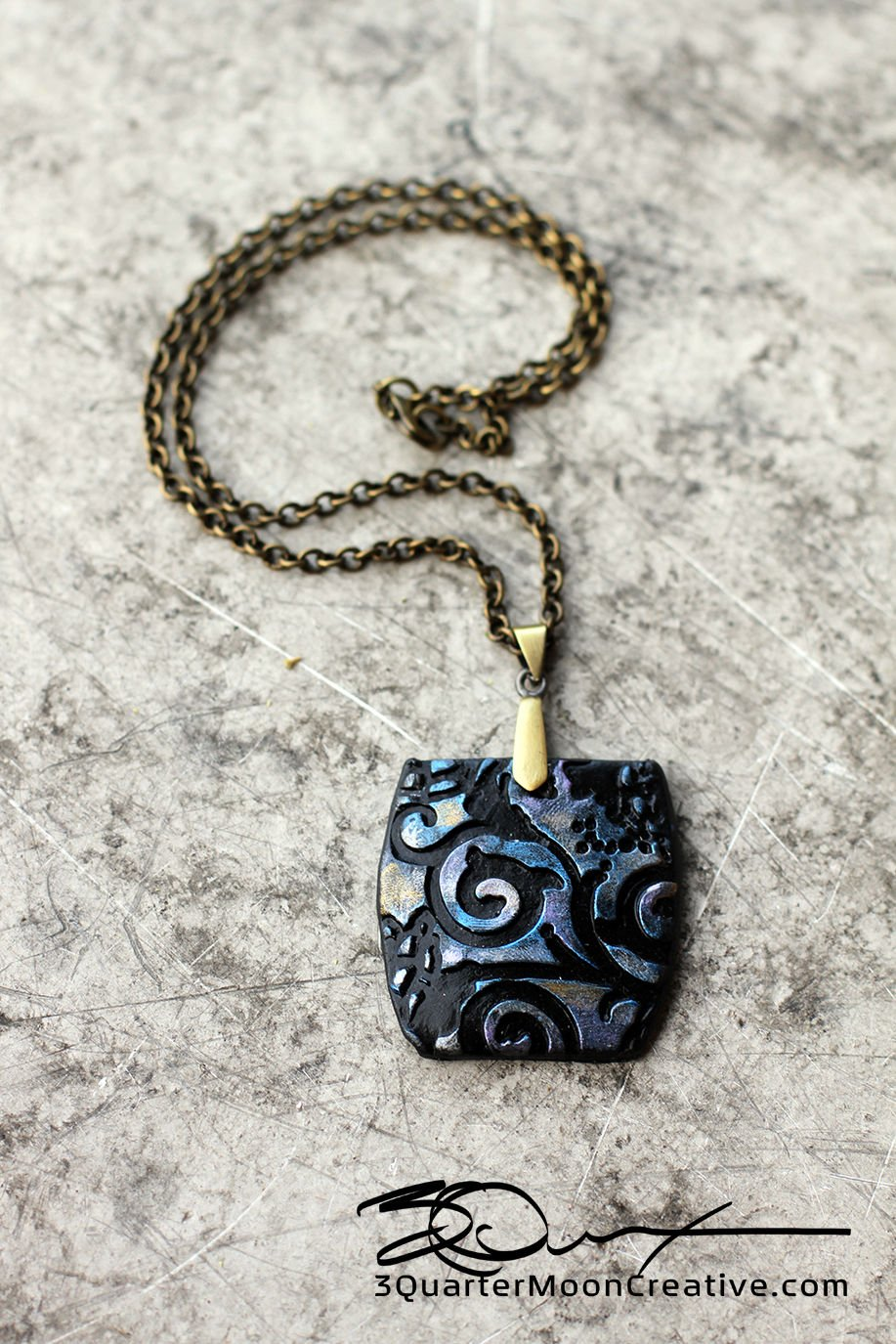Polymer/Clay Necklace