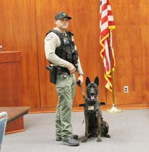 Sheriff's Office welcomes new K9 officer