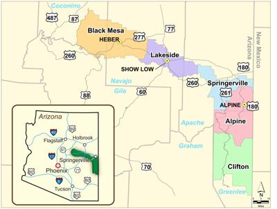 Seasonal closures for roads in Apache-Sitgreaves | News ...
