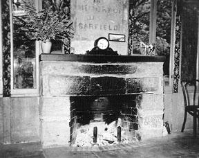 Historical fireplace reflects work of Buffalo Soldiers