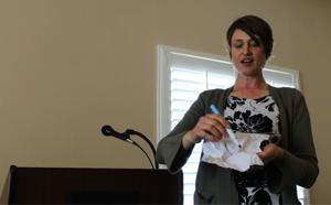 GWP director speaks at Woman's Club