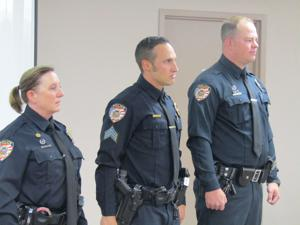 Safford Police officers recognized for lifesaving work