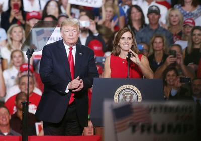 Martha McSally, Donald Trump
