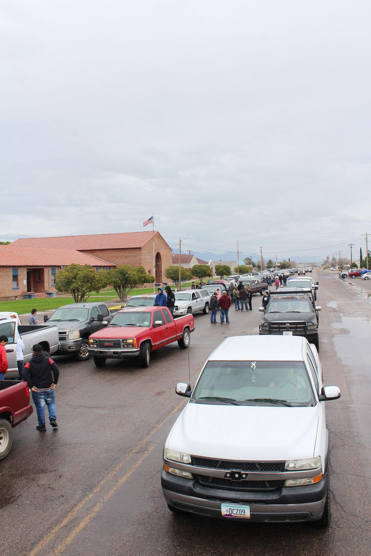 Truck processional