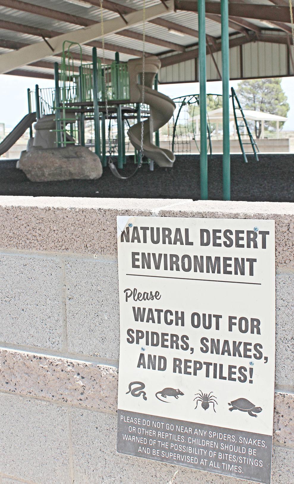 Fairgrounds warning