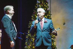 Haynie honored at EAC Festival of Carols