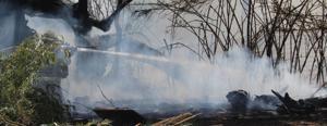 UPDATE: Brushfire causes South 1st Avenue road closure