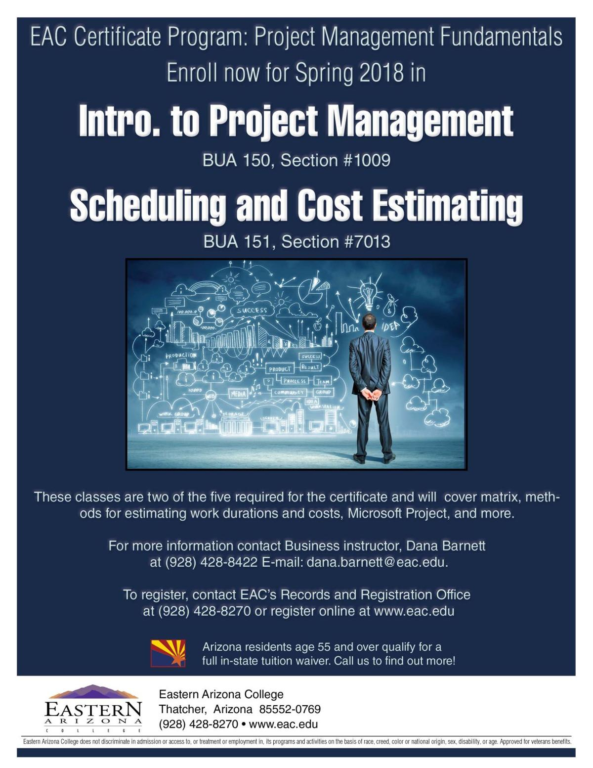 Project management fundamentals certificate program at eac local project management 1betcityfo Image collections