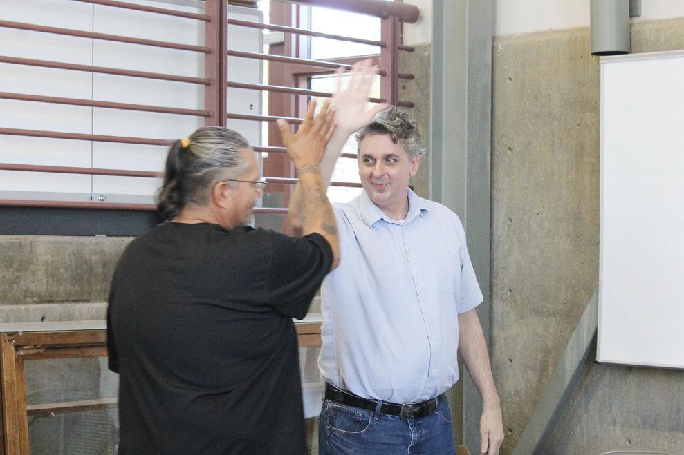 George Flores, David Delawder