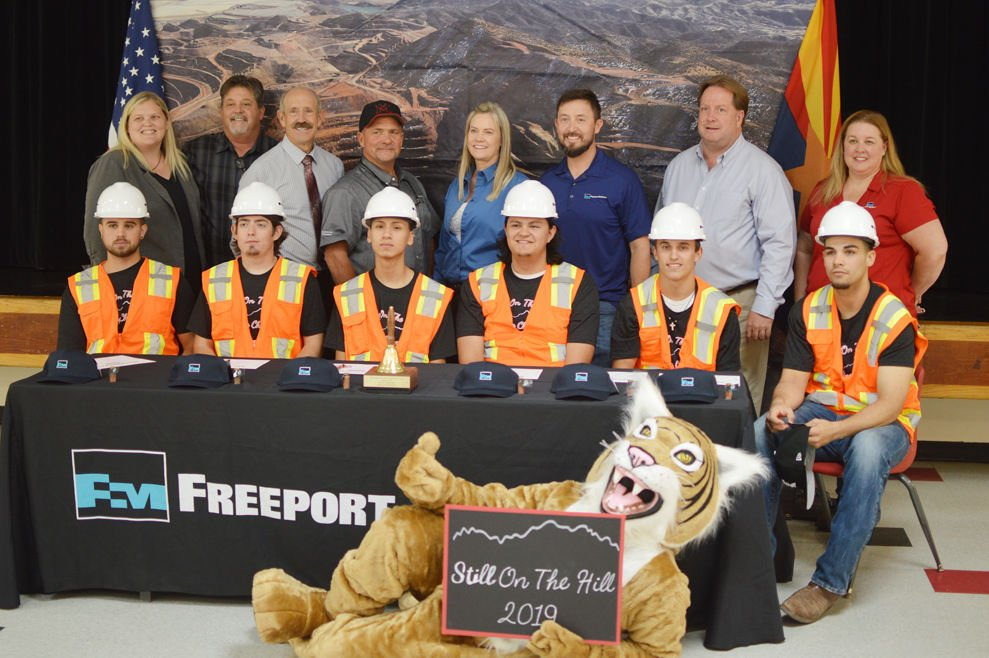 CTED grads sign to work for Freeport