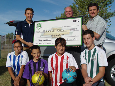 kempton chevrolet hopes to help ayso region 216 score big kempton chevrolet teams up with ayso region 216 to help raise thousands of dollars for youth soccer program local sports news eacourier com eastern arizona courier