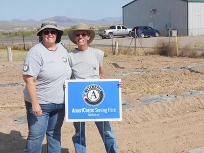 AmeriCorps volunteers