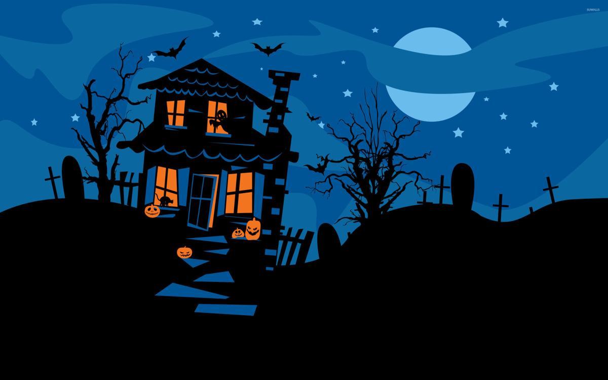 2017 halloween haunted houses lifestyle - Cartoon haunted house pics ...