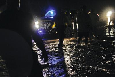 Thatcher floods from late summer storm