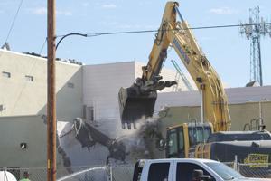 Work of tearing down old County Jail begins