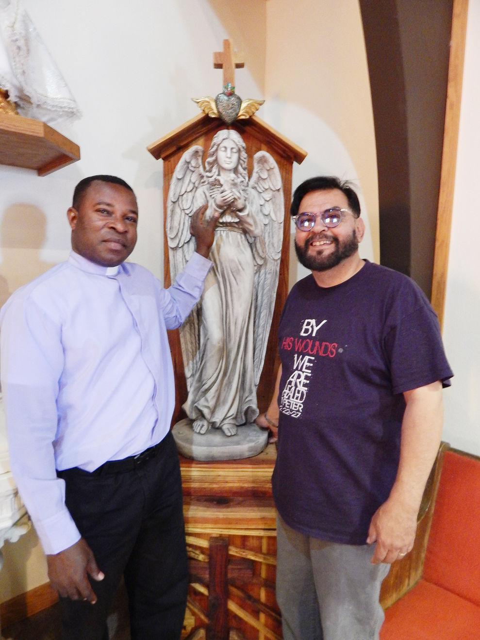Fr. Martin Okonkwo, Danny Legarda