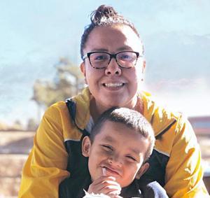 Nnee Bich'o Nii helps Young reach nursing goal