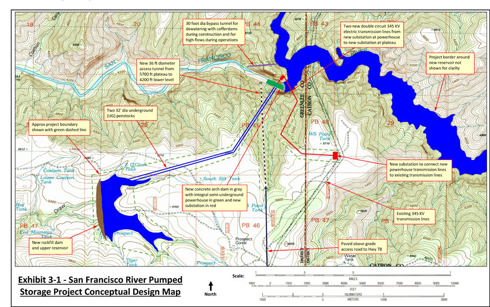 San Francisco River Pumped Storage Project