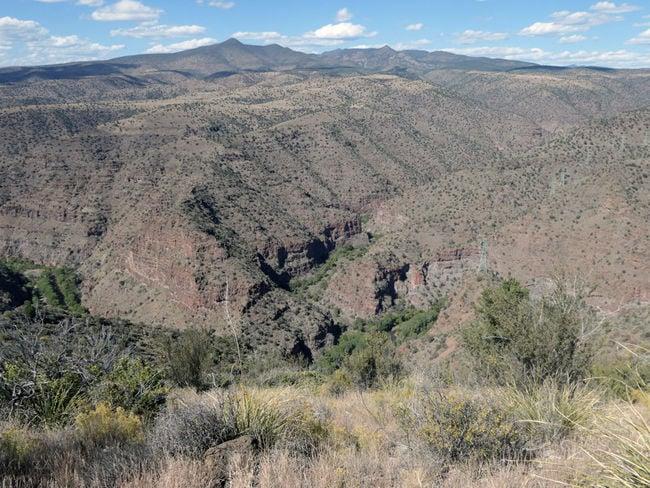 Proposed dam site