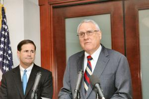 Kyl steps down, Ducey eyeing list of candidates for U.S. Senate