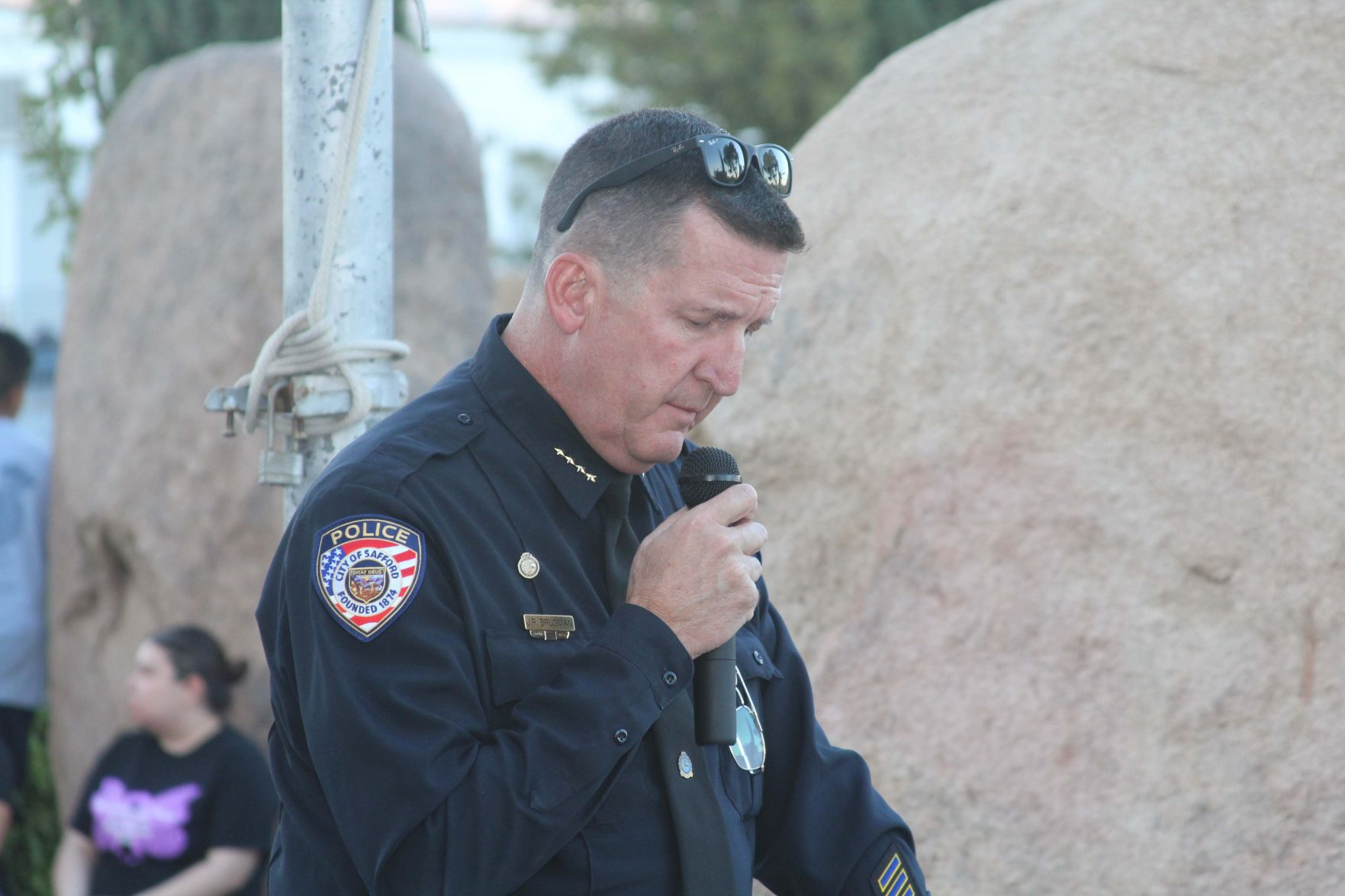 chief of police cover letter%0A Remembering those lost to violence   Local News Stories   eacourier com