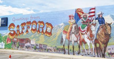 Safford mural program celebrates first finished work