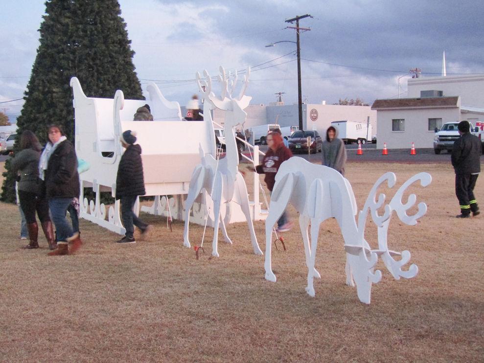 Giant sleigh