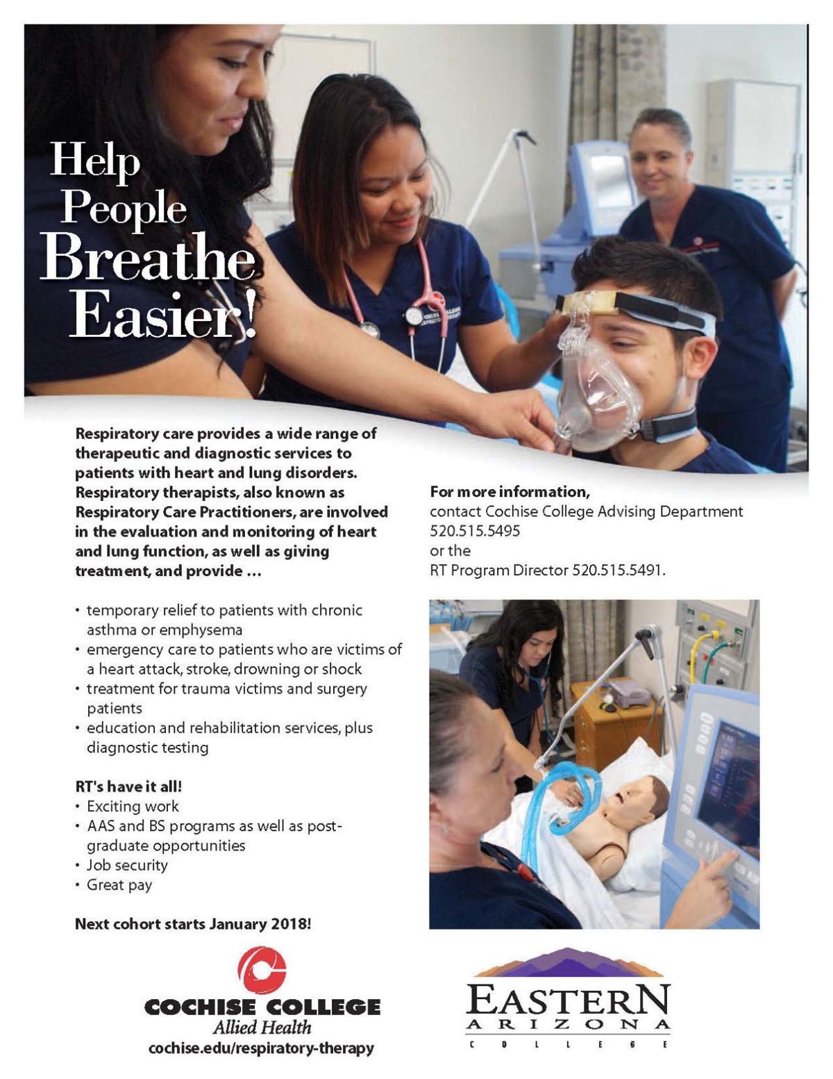 Respiratory therapist schools online programs
