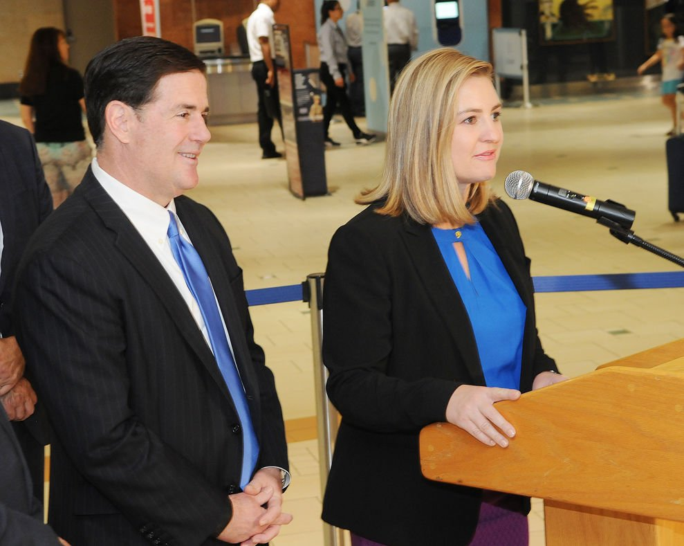 Doug Ducey, Kate Gallego