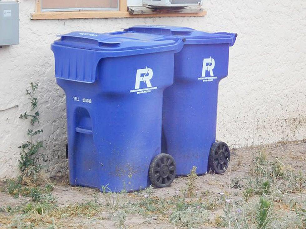 Safford recycling bins