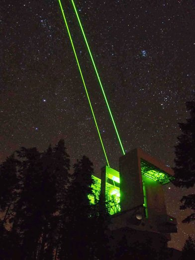 Mgio Shoots Lasers Into Space Local News Stories