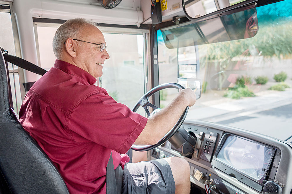 Bus driver shortage hurts AZ schools | complementary