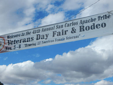 San Carlos Apache Tribe Hosting Annual Veterans Day Rodeo