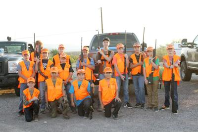 Youth dove hunters