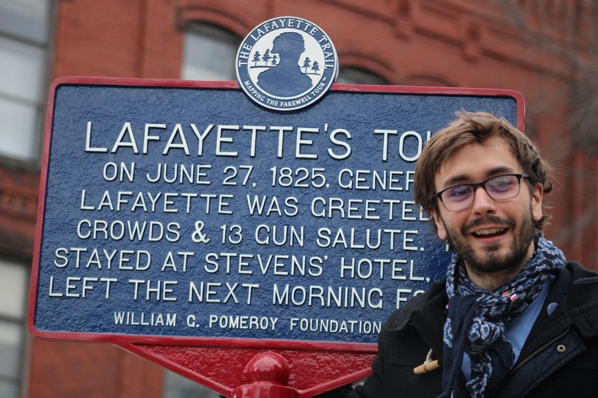 New marker commemorates 'America's favorite fighting Frenchman' | Community  | eagletimes.com