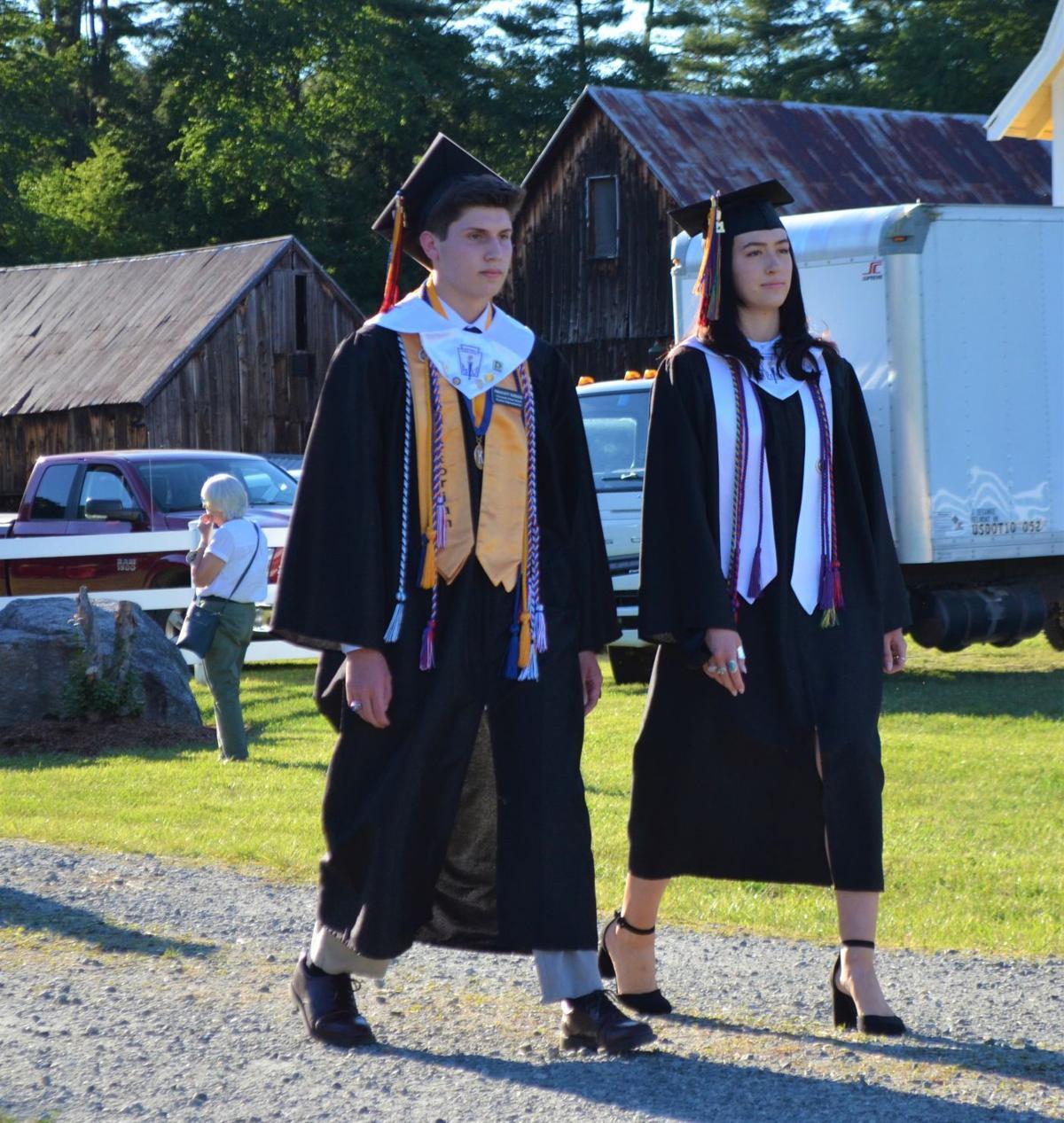 06122021 Stevens Class of 2021 Graduation Prescott Herzog Gabriella Savo