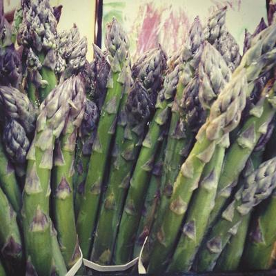 Fresh aspargas