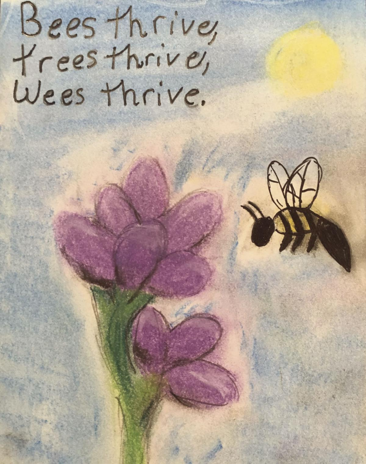 Bees thrive