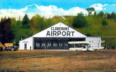 Claremont airport
