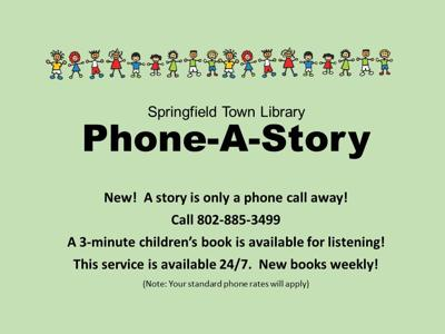 0516 Online Springfield Town Library Virus Phone-a-Story