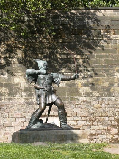 0627 Redneck Robin Hood Statue