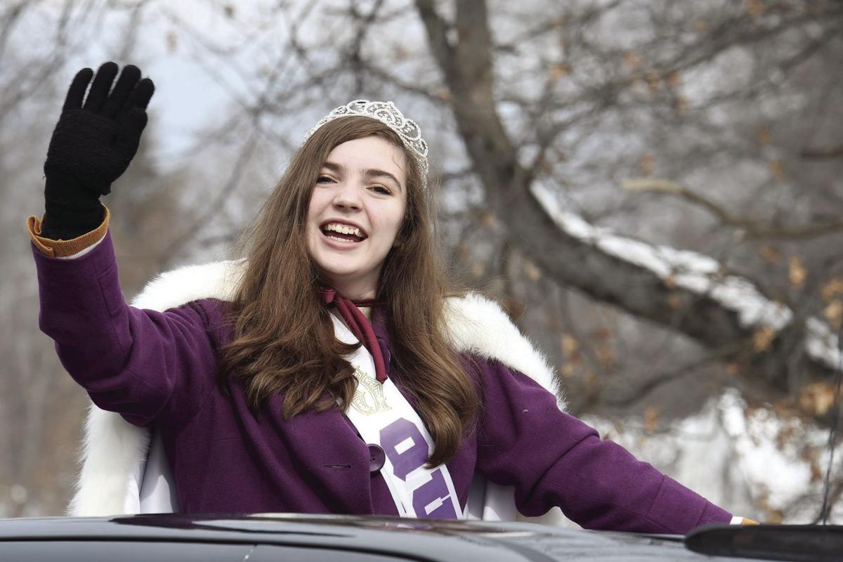 Newport Winter Carnival Queen Alia Gonzalez