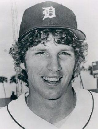 Mark Fidrych of the Detroit Lions