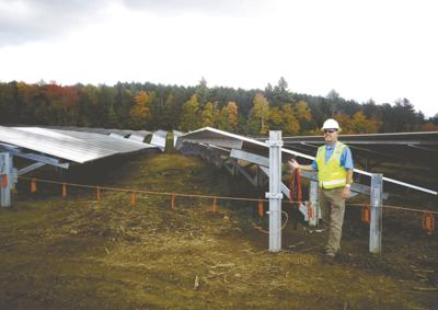 Largest solar array in Vermont