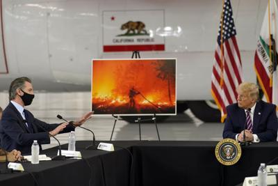 09162020 Climate Wildfires California Trump