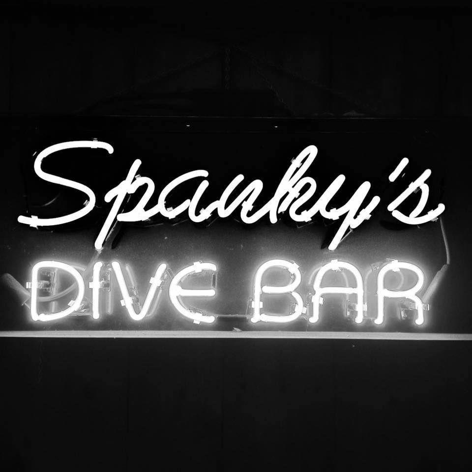 Spanky's Dive Bar Sign